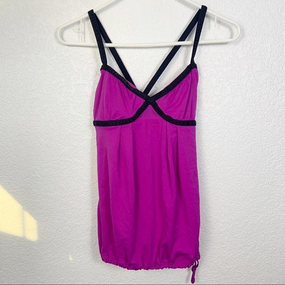 lululemon athletica Tops - Lululemon Purple Pink Tank Top Size 4
